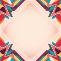 Layout with colorful abstraction abstract shapes Royalty Free Stock Photo