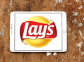 Lays chips logo Royalty Free Stock Photo