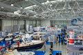Lazio Boating Exhibition Stock Photo