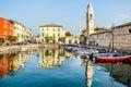 Lazise Lago di Garda Verona Veneto Italy Royalty Free Stock Photo