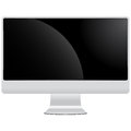 Lcd display monitor isolated Royalty Free Stock Photo