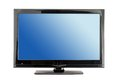 Lcd tv monitor Royalty Free Stock Photo