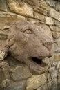 León de piedra Foto de archivo