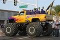 Le camion de monstre a appelé Hog Wild Photographie stock libre de droits