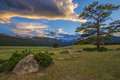 Le colorado rocky mountain landscape Photographie stock