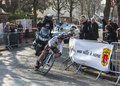 Le cycliste dumoulin samuel paris nice prolo Photos stock