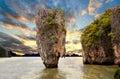 Île de James Bond Image libre de droits