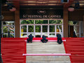 Le festival de film international de Cannes Photo libre de droits