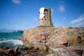 Le Hocq Martello Tower, Jersey, Channel Islands Royalty Free Stock Photography
