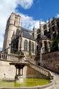 Le Mans, France: Cathédrale St. Julien Royalty Free Stock Photography