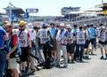 Le Mans / France - June 13-14 2017: 24 hours of Le Mans
