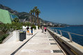 Le monaco promenade Photos stock