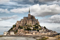 Le mont saint miche michel in normandy france Stock Image