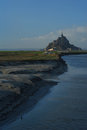 Le mont saint Michel Stock Photo
