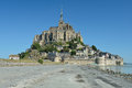 Le Mont Saint-Michel, Normandy, France Royalty Free Stock Photography