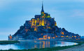 Le mont saint michel an unesco world heritage site in france Royalty Free Stock Photography