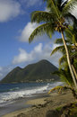 Le Morne Larcher in Martinique Stock Images