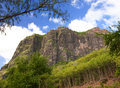 Le morne mountain on the south of mauritius Royalty Free Stock Photography