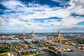 Le pont de Bhumibol Photo stock