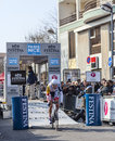 Le prologue 2013 de Cylist Bellemakers Dirk Paris Nice dans Houille Images stock