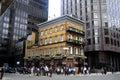 Le Pub d'Albert à Londres Images libres de droits