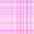Le rose en pastel barre le plaid Image stock