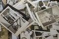 Le secteur antique d istanbul dans l ukurcuma de ‡ de ã vieux solénoïde de photos de famille Photo libre de droits