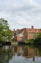 Le Suffolk de moulin de Flatford Images libres de droits