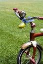 Le vélo de l'enfant Images libres de droits