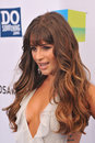 Lea michele at the do something awards at barker hangar santa monica airport august santa monica ca picture paul smith Stock Photography