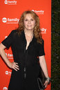 Lea Thompson arrives at the ABC Family West Coast Upfronts Royalty Free Stock Images