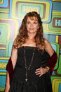 Lea thompson los angeles jan arrives at the hbo golden globe party at circa at the beverly hilton hotel on january in beverly Stock Photography