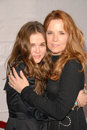 Lea Thompson, Zoey Deutch Foto de Stock Royalty Free