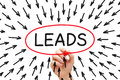Lead Generation Arrows Concept Royalty Free Stock Photo
