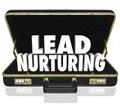 Lead Nurturing Briefcase Sales Campaign Educating Customers Pros