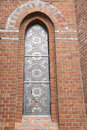 Leaded Church Window Stock Photos