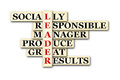 Leader acronym concept of and other releated words Royalty Free Stock Photography