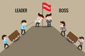 Leader or Boss, template