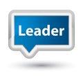Leader prime blue banner button