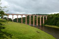 Leaderfoot viaduct Stock Photography