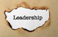 Leadership close up of concept Royalty Free Stock Images
