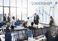 Leadership Management Skills Leader Support Concept