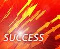 Leadership management success Stock Images
