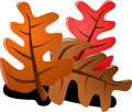 Hoja árbol mano cortar arte