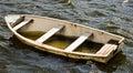Leaky life boat Royalty Free Stock Photo