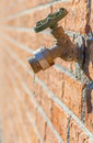 Leaky Spigot Royalty Free Stock Photo