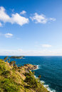Leam Pohm Thep bay Phuket Royalty Free Stock Images