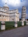 Leaning tower and Cathedral, Pisa, Italy. Stock Photography