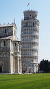 Leaning Tower and Cathedral of Santa Maria Assunta in Piazza dei Miracoli also known as Piazza del Duomo, Pisa, Italy