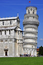 Leaning Tower of Pisa , Italy Stock Image